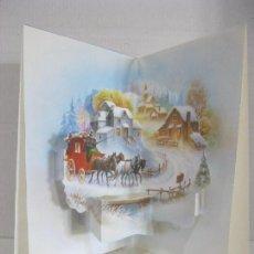 Postales: POSTAL NAVIDAD TROQUELADA DESPLEGABLE ESC. 1993 VER FOTO ADICIONAL. Lote 109459507