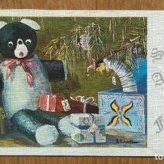Postales: TARJETA FELICITACION DE NAVIDAD - ILUSTRACION LAMPHIER. Lote 109530715