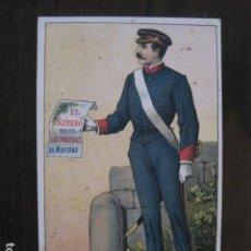 Postales: FELICITACION ANTIGUA DE NAVIDAD - EL SERENO - VER FOTOS -(51.649). Lote 110573171