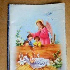 Postales: BONITA TARJETA FELICITACIÓN NAVIDAD ESCRITA AÑO 1954. Lote 110633426