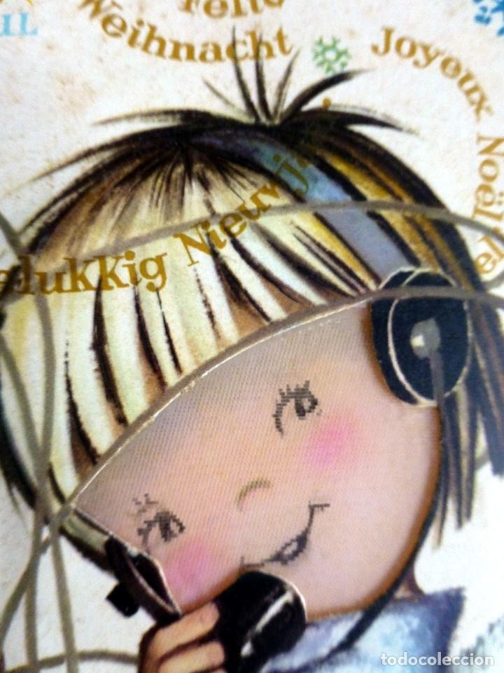 Postales: Ferrandiz S.1572-3 Cierra y abre los ojos escrita - Foto 3 - 110694975