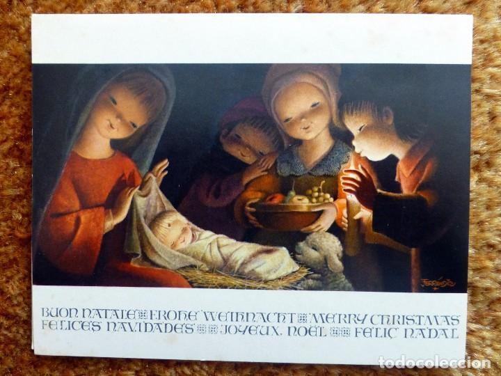 FERRANDIZ EDICIONES SUBI B 1626-1 ESCRITA 1966 (Postales - Postales Temáticas - Navidad)