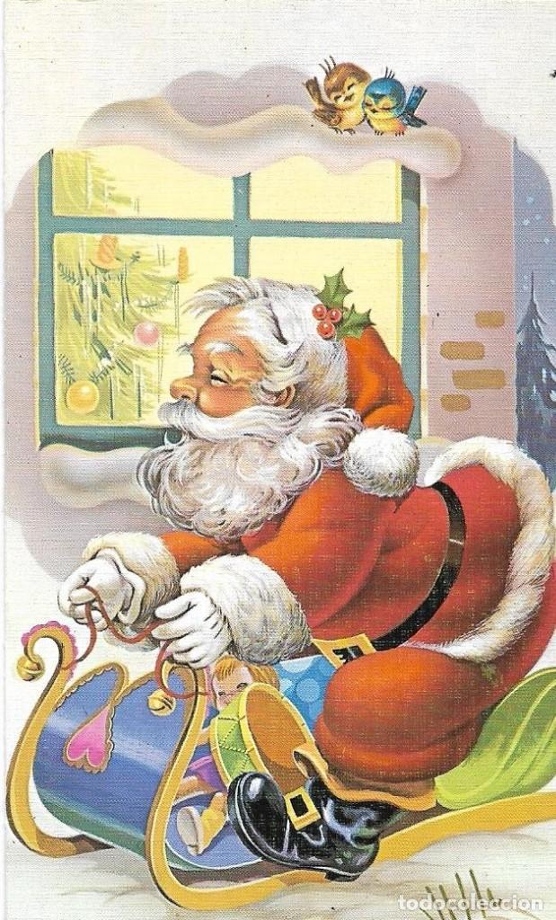 == AF484 - BONITA FELICITACION DE NAVIDAD - ESCRITA (Postales - Postales Temáticas - Navidad)