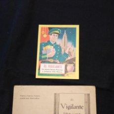 Postales: FELICITACION NAVIDAD 'EL VIGILANTE'. AÑOS 40, Y OTRA DE 1954.. Lote 110791611