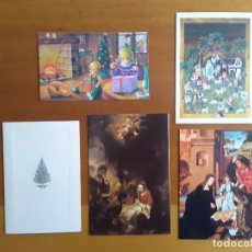 Postales: TARJETAS DE FELICITACIÓN NAVIDAD . Lote 111399027