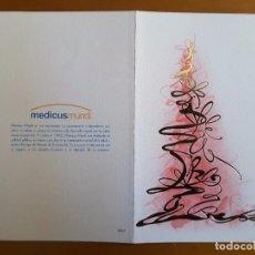 Postales: TARJETAS DE FELICITACIÓN NAVIDAD - EMPRESA. Lote 111399683
