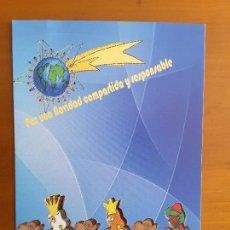 Postales: TARJETA NAVIDAD - CARTA A LOS REYES. Lote 111403771