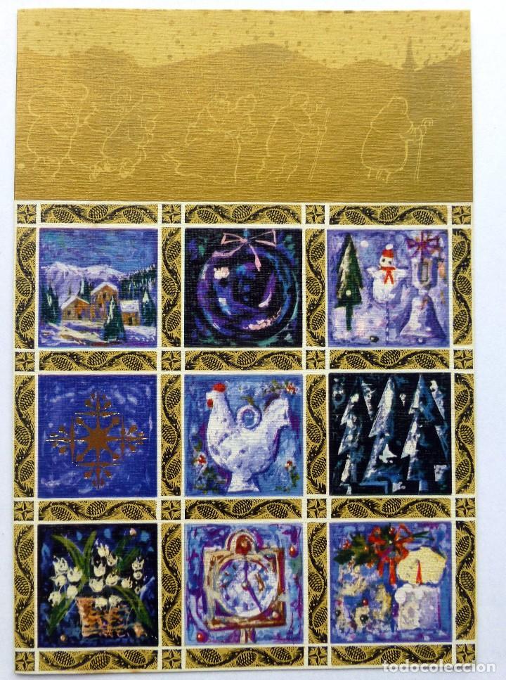 EDICIONES SABADELL SERIE MIRACLE 4480 ESCRITA 1968 (Postales - Postales Temáticas - Navidad)