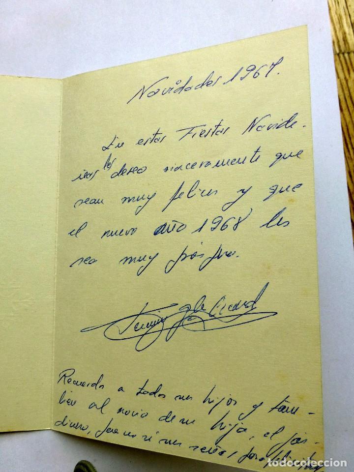 Postales: ediciones sabadell serie miracle 4480 escrita 1968 - Foto 2 - 111488091