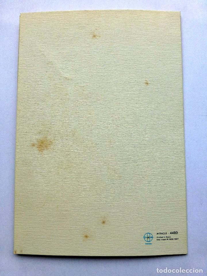 Postales: ediciones sabadell serie miracle 4480 escrita 1968 - Foto 3 - 111488091