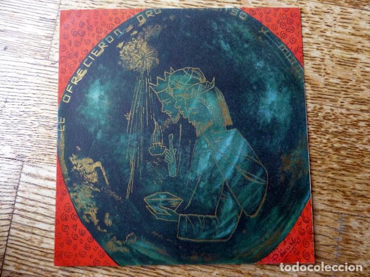 EDICIONES D B-120/3 ILUSTRA P. LINARES ESCRITA 1960 (Postales - Postales Temáticas - Navidad)