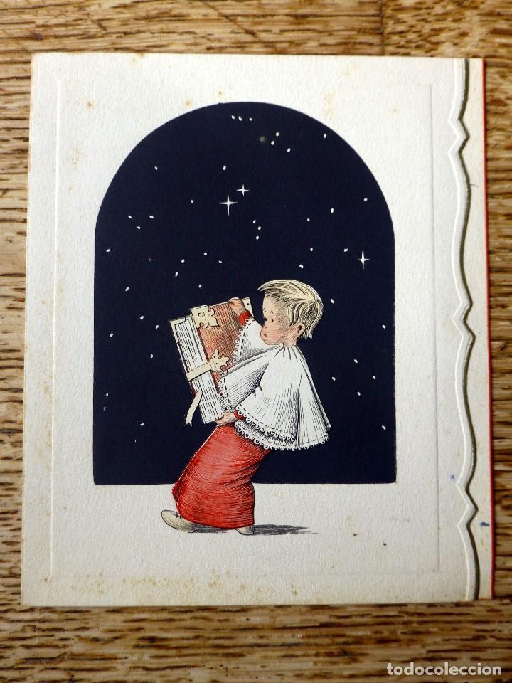 EDICIONES ORTIZ CH.-5262 ESCRITA 1952 (Postales - Postales Temáticas - Navidad)