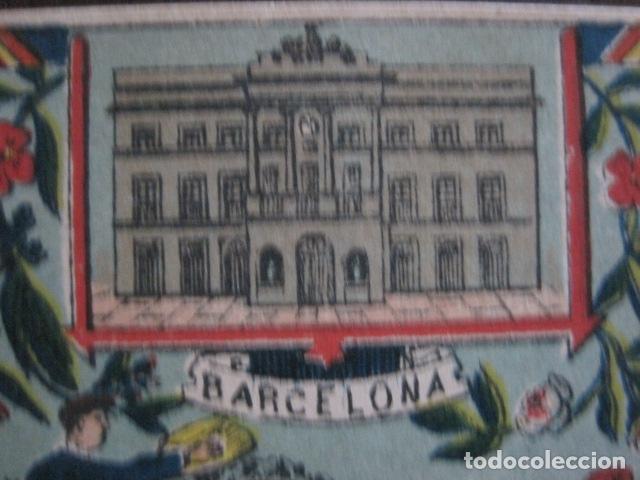 Postales: POSTAL FELICITACION EL BASURERO BARRIO -BARCELONA -FIN SIGLO XIX - VER FOTOS -(52.025) - Foto 6 - 112565587