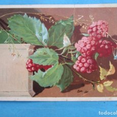 Postales: LOS APRENDICES DE M. ROSIÑOL FELICITAN LAS PASCUAS DE NAVIDAD , PRIMEROS DE 1900. Lote 114937951