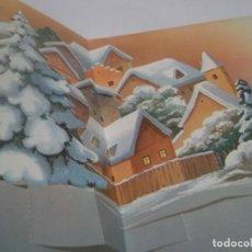 Postales: ANTIGUA POSTAL NAVIDAD TROQUELADA AÑO 1987. Lote 114971279