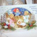 Postales: FELICITACIÓN ALEMANA DE NAVIDAD. NUEVA. Lote 115277647