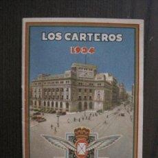 Postales: LOS CARTEROS - 1934 - FELICITAN PASCUAS -LIBRITO FELICITACION-VER FOTOS-(52.393). Lote 116604431