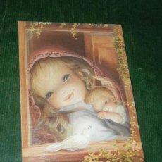 Postales: ANTIGUA FELICITACION NAVIDAD FERRANDIZ 1990. Lote 116680223