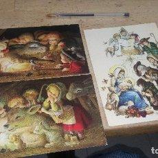 Postales: TARJETAS DE FERRANDIZ, DIPTICOS 17 X 10 Y 17 X 12 CM. ESCRITOS EN INTERIOR. Lote 187453487
