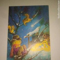 Postales: CRISMA DE NAVIDAD ANTIGUO DE CONSTANZA.CYZ. AÑOS 80. DEDICADA.. Lote 117406051