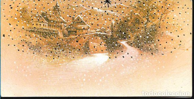 TARJETA NAVIDAD BLADE * PUEBLO NEVADO * (Postales - Postales Temáticas - Navidad)