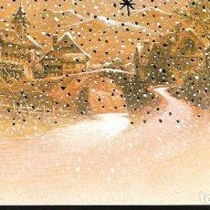 Postales: TARJETA NAVIDAD BLADE * PUEBLO NEVADO *. Lote 195354800