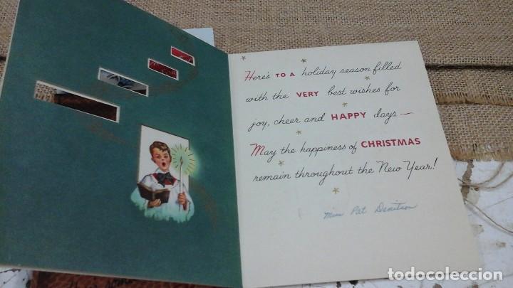 Postales: Lote de crismas navideños españoles y extranjeros .Años 50 y 60 - Foto 3 - 119149871