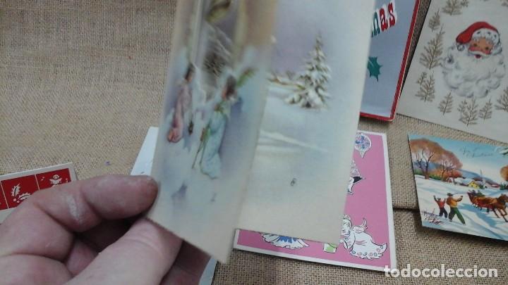 Postales: Lote de crismas navideños españoles y extranjeros .Años 50 y 60 - Foto 4 - 119149871