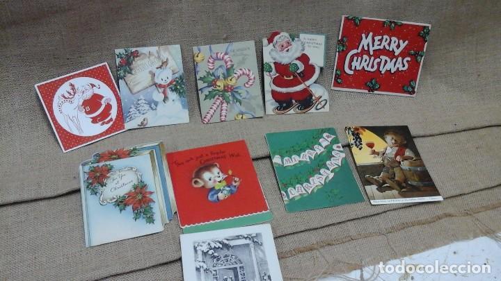LOTE DE POSTALES NAVIDEÑAS ,VARIOS IDIOMAS .AÑOS 50 Y 60 (Postales - Postales Temáticas - Navidad)