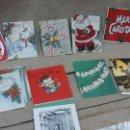 Postales: LOTE DE POSTALES NAVIDEÑAS ,VARIOS IDIOMAS .AÑOS 50 Y 60. Lote 119150479