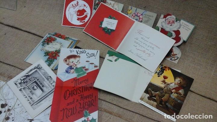 Postales: lote de postales navideñas ,varios idiomas .Años 50 y 60 - Foto 4 - 119150479