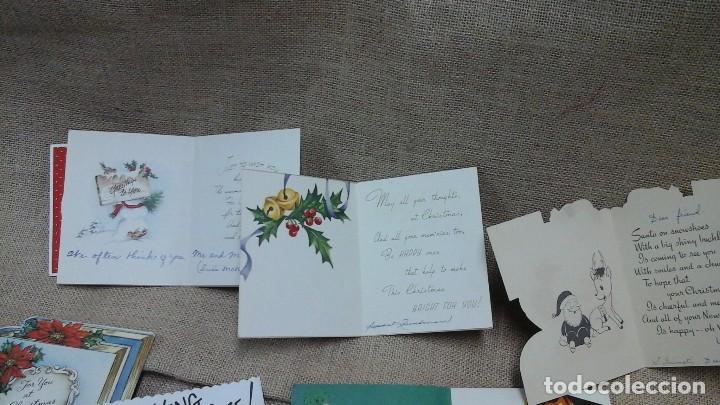 Postales: lote de postales navideñas ,varios idiomas .Años 50 y 60 - Foto 5 - 119150479