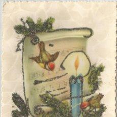 Postales: FELIZ NAVIDAD / JOYEUX NOËL - PURPURINA - IMPRIMÉ EN BELGIQUE JC - ESCRITA. Lote 121790603