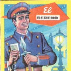 Postales: FELICITACIÓN NAVIDEÑA EL SERENO AÑOS 70.. Lote 122041871