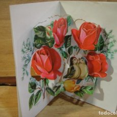 Postales: TARJETA NAVIDAD TROQUELADA - COLECCION PERLA . Lote 122216191