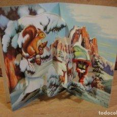 Postales: TARJETA NAVIDAD TROQUELADA - COLECCION PERLA. Lote 122217051