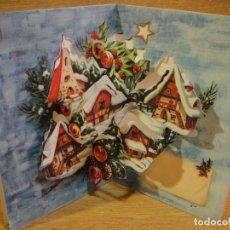 Postales: TARJETA NAVIDAD TROQUELADA - EDICIONES PERLA -. Lote 122218079