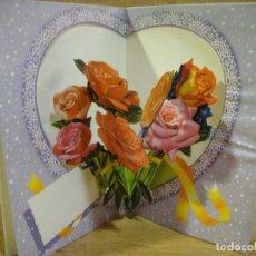 Postales: TARJETA NAVIDAD TROQUELADA - EDICIONES PERLA. Lote 122220559