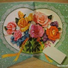 Postales: TARJETA NAVIDAD TROQUELADA - EDICIONES PERLA. Lote 122220647