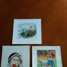 Postales: ANTIGUAS TARJETAS - POSTALES NAVIDEÑAS. Lote 122461471