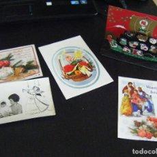 Postales: JML LOTE 5 POSTALES DE NAVIDAD, 2 DE ELLAS DESPLEGABLES, VER FOTOS. RARA.. Lote 123720571