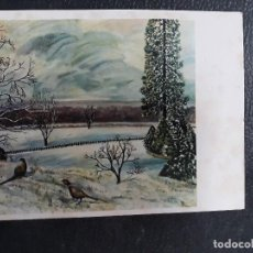 Postales: POSTAL NAVIDAD 1965 FECHADA. Lote 125135727
