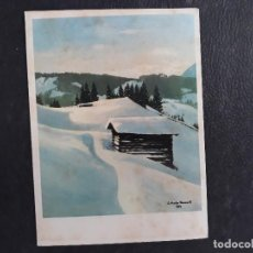 Postales: POSTAL NAVIDAD FECHADA 1966. Lote 125145035