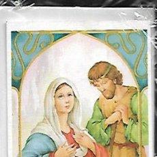 Postales: FELICITACION NAVIDAD VERNET * MARIA , JOSÉ Y EL NIÑO JESÚS * - AÑO 1983 - CON SOBRE Y FUNDA. Lote 125173911