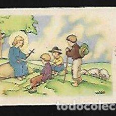Postales: TARJETA NAVIDAD COZZI * ANGEL CON PASTORES * AÑO 1945. Lote 125220487