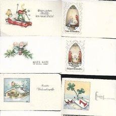 Postales: 25 TARJETAS NAVIDAD ALEMANAS - DE MUESTRARIO. Lote 125821883