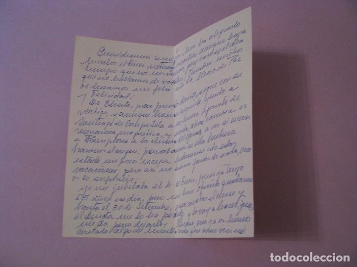 Postales: POSTAL DIPTICA DE ILUSTR. MA. OLY. ED. ORTIZ X300. ESCRITA. 16X8,5 CM. - Foto 2 - 126129303