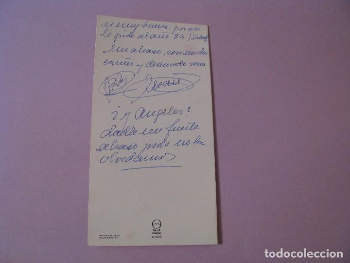 Postales: POSTAL DIPTICA DE ILUSTR. MA. OLY. ED. ORTIZ X300. ESCRITA. 16X8,5 CM. - Foto 3 - 126129303