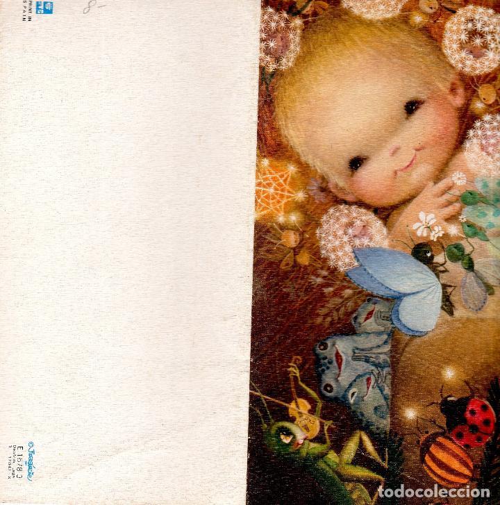 FELICITACION DE NAVIDAD. FERRANDIZ. MEDIDAS : 11.5 X 23 CM. (Postales - Postales Temáticas - Navidad)