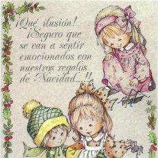 Postales: 7335A - EDICIONES ORTIZ MADRID- SERIE X116- DIPTICA 13X8,5 CM - DATA 1981- ILUSTRA MARIA. Lote 126490319